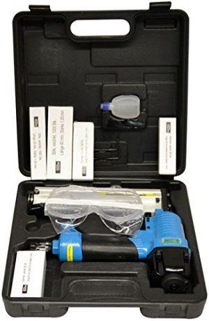 Dewalt Klammernagler Druckluft DPSSX38 35 mm, SX Klammern, mit Einzelausl/ösung f/ür m/üheloses Klammern in Bau und Handwerk, inkl. Transportkoffer
