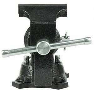 360 Grad Winkelverstellbarer Universal drehbarer kleiner Schraubstock zuverl/ässige Qualit/ät. Universalschraubstock Schraubstock aus Aluminiumlegierung Tischschraubstock